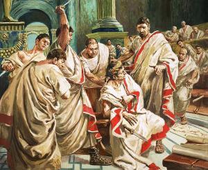Caesar-death