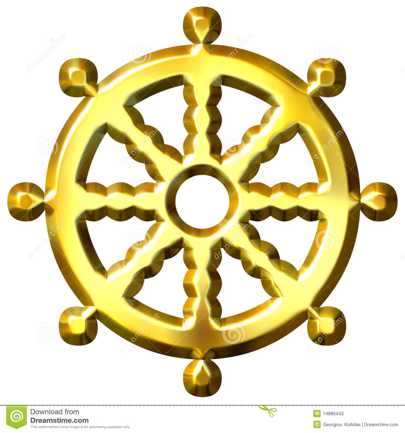 The diamond sutra volumes 16 32 by michael todd michael todd 3d golden buddhism symbol wheel dharma 14885443 biocorpaavc